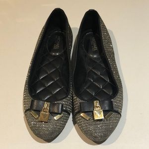 Michael Kors shoes with lock and bow